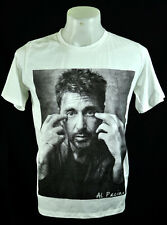 Al Pacino the god father Punk Rock White crew tee 100% cotton T-shirt Size XL
