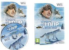 L' ESPRIT DU LOUP !!! SUPER Jeu Inspiré du Film De Nicolas Vanier sur Wii./Wii U