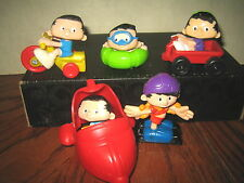 """5 RARE HTF BOBBY'S WORLD COLLECTABLE FIGURE'S LOT , """" SOLD AS IS """""""