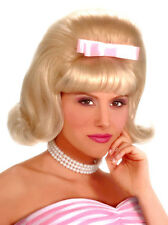 Black 50's Bouffant Wig - Costume Wigs