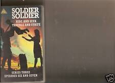 SOLDIER SOLDIER HIDE AND SEEK + TROUBLE AND STRIFE VIDEO VHS