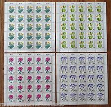 Bund 1059 - 1062 postfrisch Bogen Satz alle FN 1 Michel 105 Euro Full sheet MNH