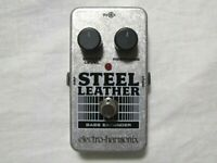 Used Electro-Harmonix EHX Steel Leather Attack Expander Bass Guitar Pedal