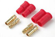 Conector oro 3.5mm macho / hembra