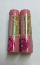 (2) TWO EOS 100% Natural Shea Lip Balm, Strawberry Sorbet