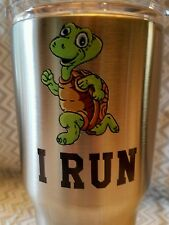 Decal/Sticker for Cooler Cup Turtle... I Run