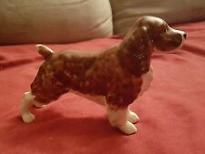 "Porcelain 5.6""  Spaniel Dog figure- missing sticker"