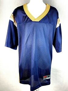 St. Louis Rams Los Angeles Rams Football Youth Jersey Blank Navy