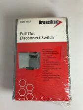 New Diversitech DDS-60U Pull-Out Disconnect Switch 60 amp FREE SHIPPING