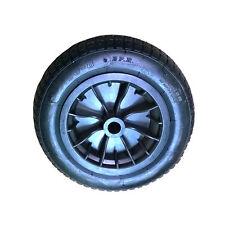 "Wheelbarrow REPLACEMENT 2 x 14"" Wheel Pneumatic Inflatable Tyre Black 3.50-8"