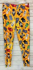 Online Legging Store Chills And Thrills Halloween Monsters Size 4XL (22-25)