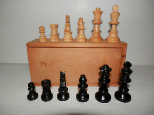 !Collection Sell-Out! Vintage Staunton Style Wooden Chess Set