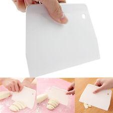 Gâteau plain edge scraper cutter sugarcraft fluide lissant moule outils blanc