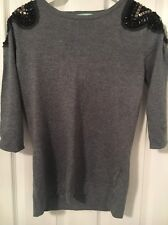 """Ladies Large """"Almost Famous London"""" Evening Wear Long Sleeved Top"""
