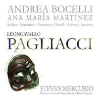 A./MARROCU/MERCURIO/ORCH.TEAT.MASS.BELLINI BOCELLI - PAGLIACCI (GA)  CD NEUF