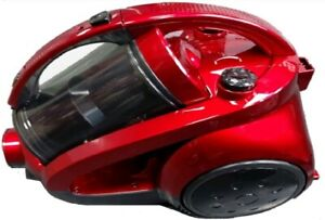 NEW GOLD-TEC BAGLESS 1600W CYLINDER VACUUM CLEANER/HOOVER (RED)