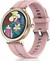 CatShin Smart Watch for Women,Fitness Tracker Bluetooth with Heart blue