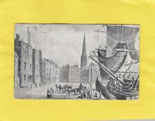 OLD CUSTOM HOUSE  1715    ,  ''  ANCIENT  LIVERPOOL  ''  Postcard  ( Hm 14 )
