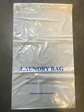 Plastic Hotel Disposable Laundry bags/ case of 1000 **Free Shipping*