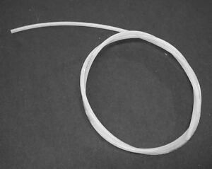Vacuum Line - White - 1.0 X 4.0 mm - (Sold by the Meter) Cohline 000-158-14-35