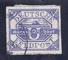 Deutsches Reich Feldpost Nr.13 b mit Briefstück, signiert Kreft U-Bootmarke Hela