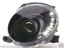 Coppia Fari Fanali tuning Anteriori Dayline Tuning LED Daylight FIAT 500 07 > 15