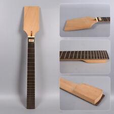 Q-Unfinished Electric guitar neck 24fret 24.75inch mahogany+Rose wood#D9