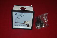AC 0-20A Analog Ammeter Panel AMP Current Meter 72*72mm directly Connect