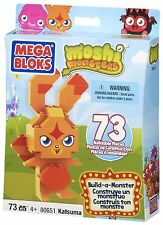 Brand New Moshi Monsters Mega Bloks Build-a-Monster Set #80651 Katsuma