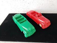 Lapin Products Vintage Plastic Toy Cars Cadillac Sedan 4 Door 5 3/4