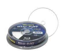10 Traxdata Imprimible en Blanco Blu Ray Discos 4x grabable BDR 25 GB 130 minutos RITEK