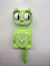Edición Limitada Diversión Chartreuse Mujer Kit-Cat Hecho En Eeuu (Sin Baterías)