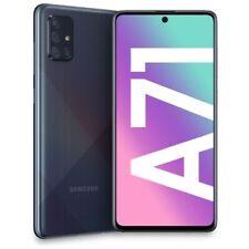 """Samsung Galaxy A71 128GB+6GB Dual Sim Prism Crush Black A715F 6.7"""" Nuovo ITALIA"""