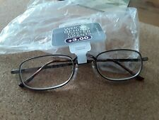 FOSTER GRANT READING GLASSES+3.00 NEW IN PACK