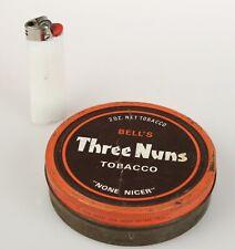 "Bell's Three Nuns Tobacco Tin Vintage ""None Nicer"" England"