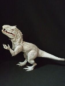 "2014 Jurassic World INDOMINUS REX 20"" Roar Light Up Electronic Dinosaur Hasbro"