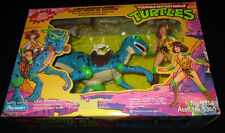 TEENAGE MUTANT NINJA TURTLES CAVE-WOMAN APRIL & RAPTOR PLAYMATES MISB TMNT