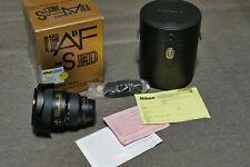 Nikon AF-S 17-35mm F2.8 D ED en su caja original con funda rígida