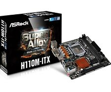 AsRock h110m-itx-ITX placa base Intel Conector 1151 CPU
