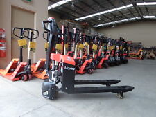 Powered Electric Battery EP Pallet Jack, 1.5Ton, 560mm Wide, On Sale Now !!