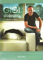 Gigi D'Alessio Made in Italy Spartiti Musicali Accordi Ricordi LIBRO NUOVO