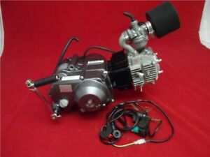 Lifan 125cc Big Valve Semi Auto Pit Bike Engine Full Package BBR Old Style
