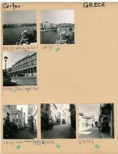 CORFOU c. 1960 - 20 Photos Ville Port Grèce - PL 1710