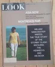 LOOK MAGAZINE APRIL 4 1967 WILLIAM MANCHESTER MONTREAL ASIA KENNEDYS