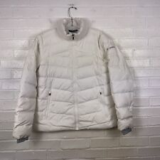 Columbia Down Jacket Women's Large White Quilted Down Insulated Jacket