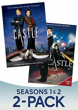 Castle: Season 1 & Season 2 786936854008 DVD NEW SEALED