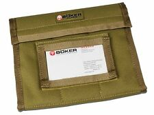 "Boker Plus Knife Vault Small Coyote Desert Brown Storage Pouch 8"" x 6"" 09BO155"