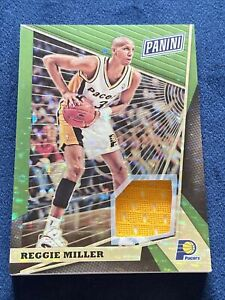 2018 Panini The National VIP #79 12/25 Reggie Miller Patch