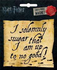 Harry Potter I Solemnly Swear Die Cut Fridge / Car Magnet