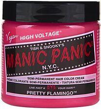 Manic Panic Semi-Permanent Hair Color Cream, Pretty Flamingo 4 oz (Pack of 2)